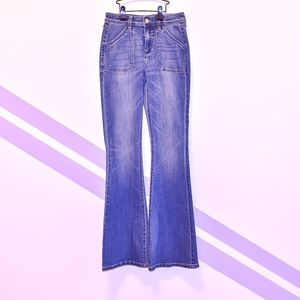 NWT The Limited High Waisted Flares Jeans sz 0R